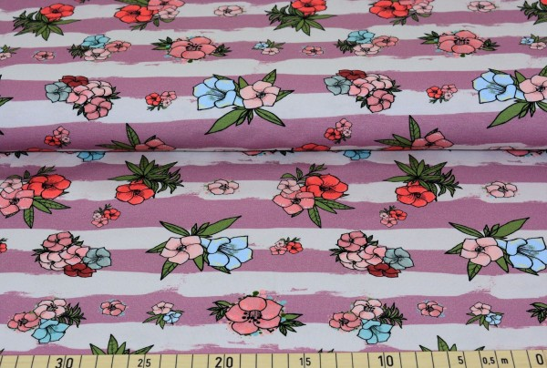 Hibiskusblüten (altrosa) - B741
