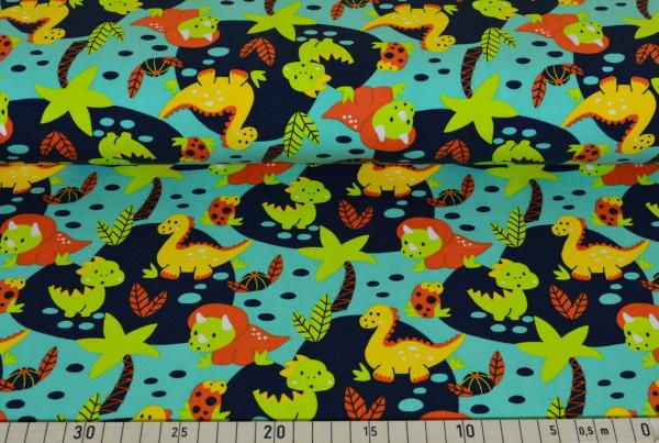 Dino Party (mint) - I237