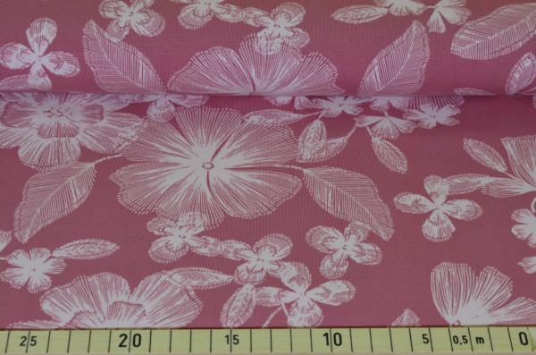 Pastell - Blüten (lachs groß) - A427