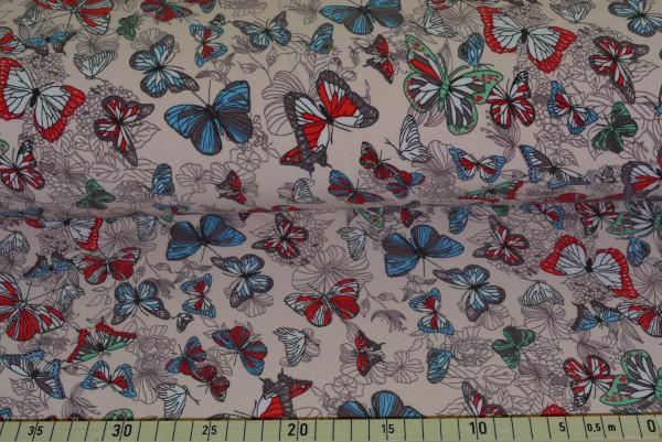 Schmetterlinge (rosa) - B570