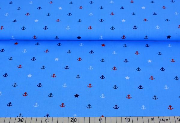 Anker + Stern (blau) - D246