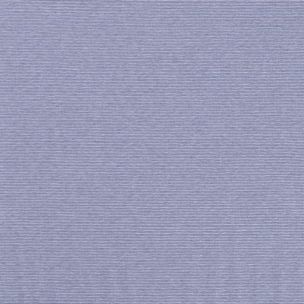 Glünz GmbH, Baumwoll Jersey, Streifen,,Stripes, indigo, blau