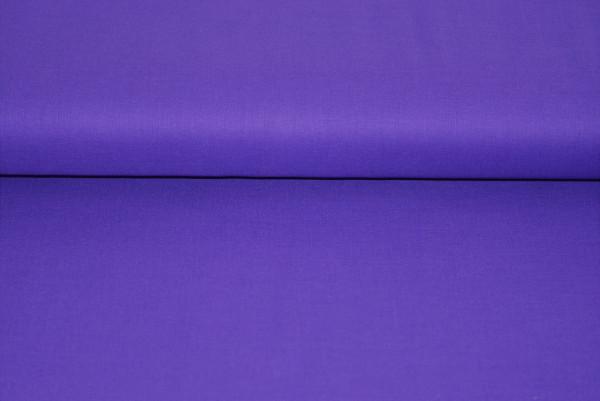 Baumwolle uni (violett) - 2450