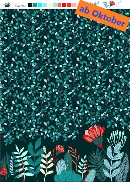 """Herbstgold (Blaubeerstern, Herbst, Blätter)"""" - H235"""