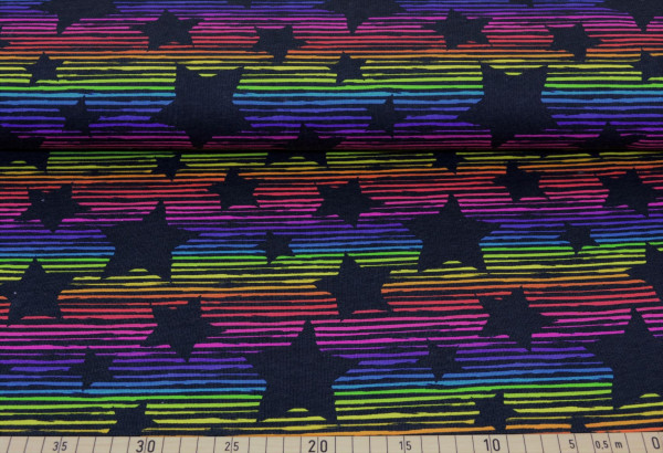 rainbow stars (Sterne, Sweat, Regenbogen) - Z823