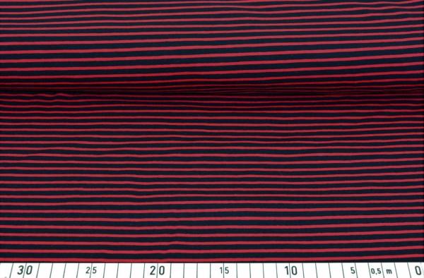 Streifen (rot/schwarz) - A480