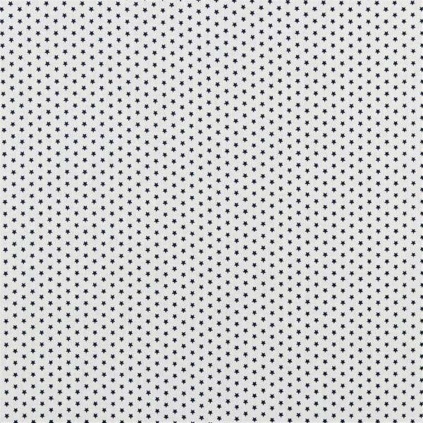 Sterne (Star, Sterne, marine, Basic, Baumwolle) - D299