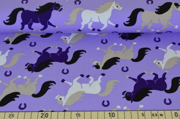 Pferde (lila) - I345 (Softshell)