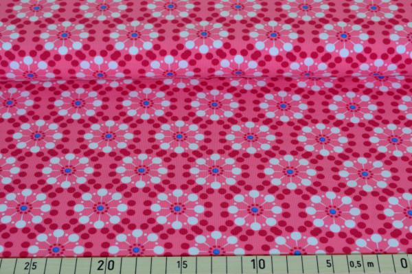 Blumen retro (pink) - B196