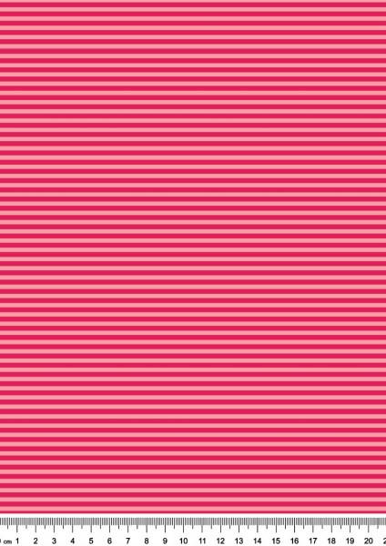 Anker + Streifen (rosa/pink,Kombi) - B1589