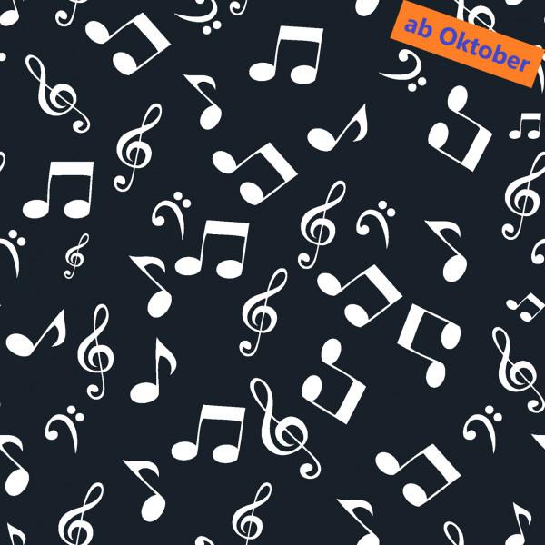 Notenschlüssel (Noten, Musik, Baumwolle) - B1740