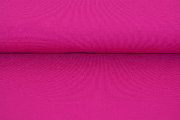 Baumwoll Jersey uni (dkl. pink) - 1870