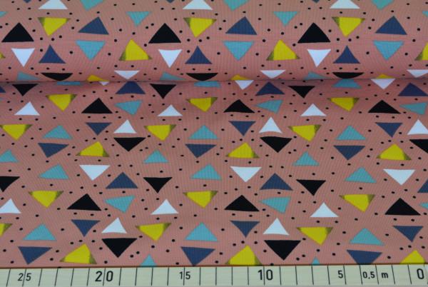Traumspiel (Dreiecke lachs) - B993