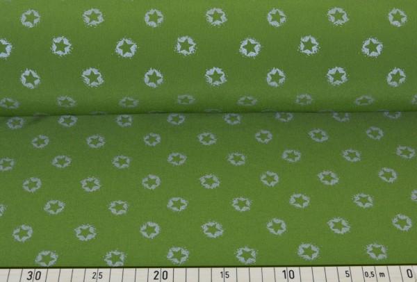 Softshell Reflex Sternchen (grün) - B835