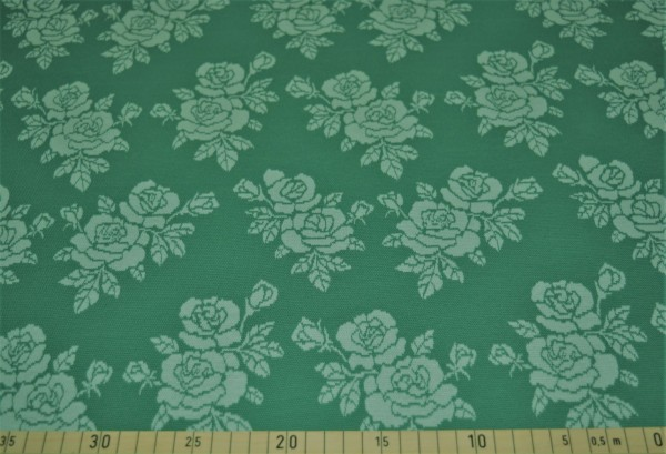Strick Jacquard Luise (Rose,grün) - B1401