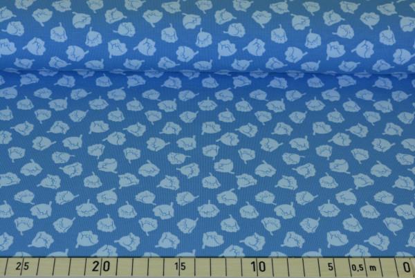 Pastell - Blüten (blau klein) - A430