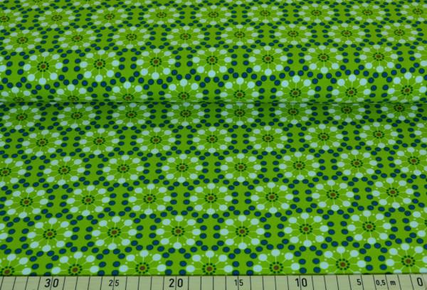 Blumen retro (petrol) - B201