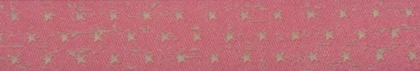 Webband Sterne (rosa)