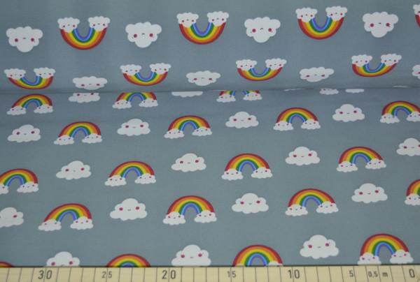 Regenbogenwolke (grau) - B482