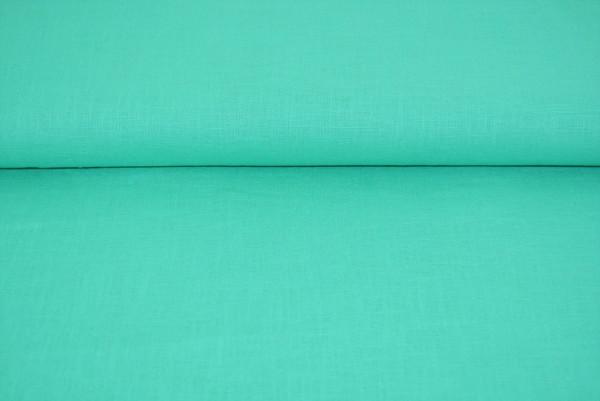 Leinen uni (mint) - 3611