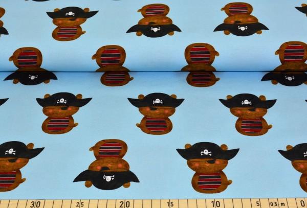 Piratenbär (hellblau) - A222