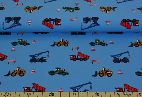Baufahrzeuge (blau) - Z163