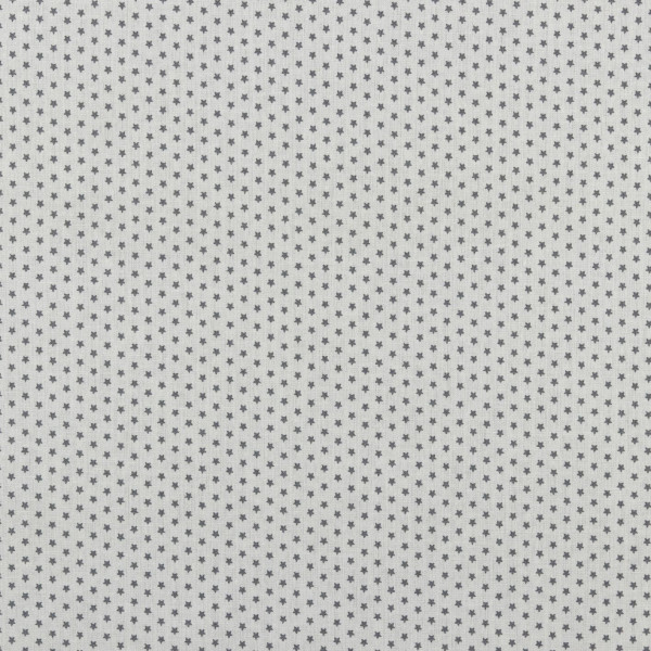Sterne (Star, Sterne, grau, Basic, Baumwolle) - D300