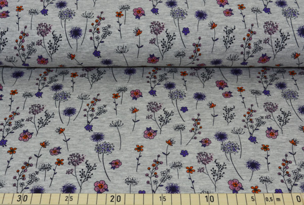 Koalabäre (grau, Blumen) - Z439