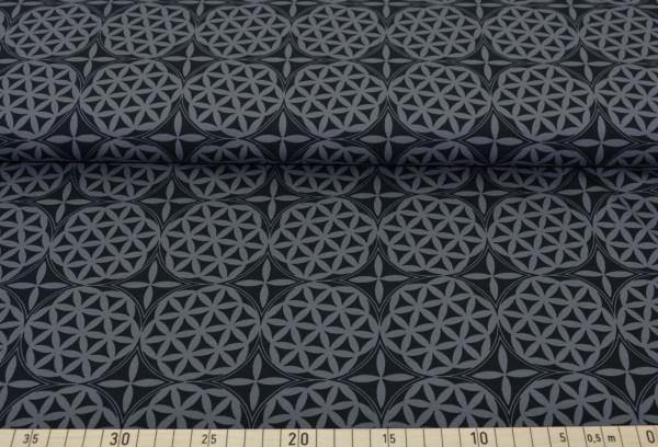 Blume des Lebens (grau) - I362 (Softshell)