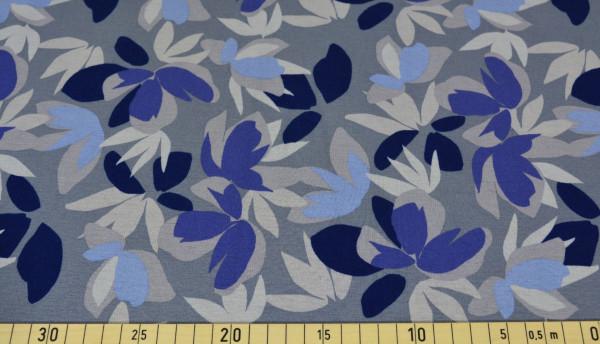 Natascha (grau, Blätter) - Z441