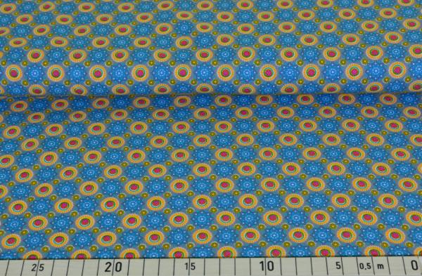 Blumen Ornament (jeans) - D121
