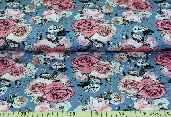 grey roses - B1001