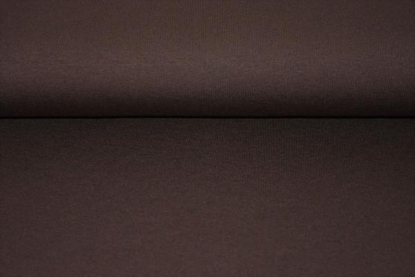 Viscose Jersey uni (dkl. braun) - 0750