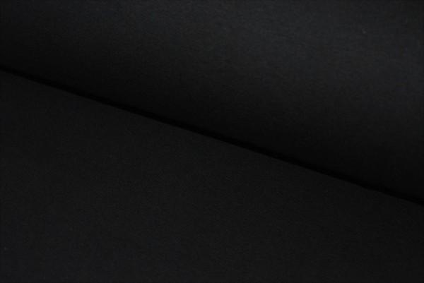 Bündchen uni (schwarz)