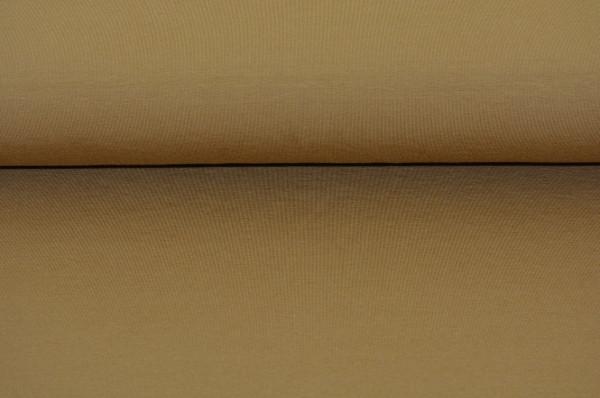Baumwoll Jersey uni (braun) - 1108