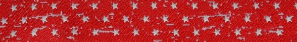 Webband Sterne (rot)