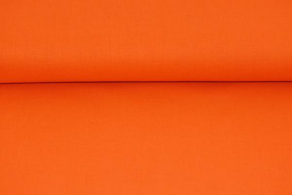 Baumwolle uni (orange) - 1350