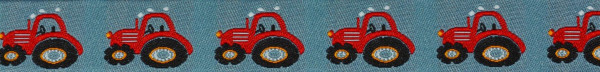 Webband (Traktor,rot)