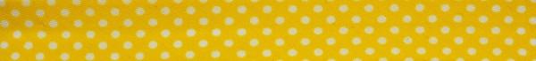 Schrägband (Tupfen gelb)