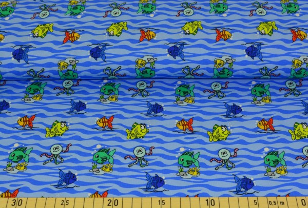 Fischy (blau) - B517