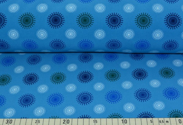 Ornament (blau) - B1211