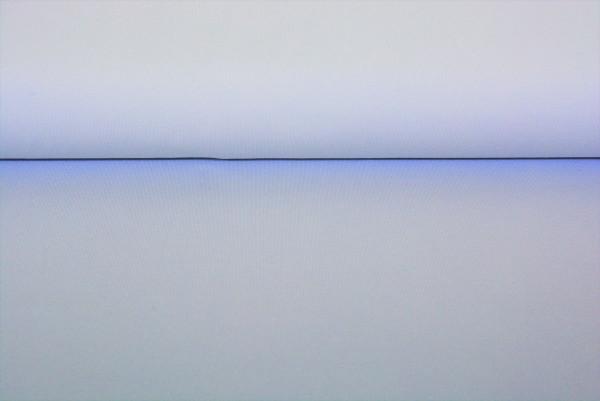 Baumwoll Jersey uni (weiß) - 0350