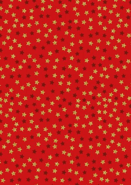Sterne (Weihnachten, Sterne, Baumwolle) - Z804