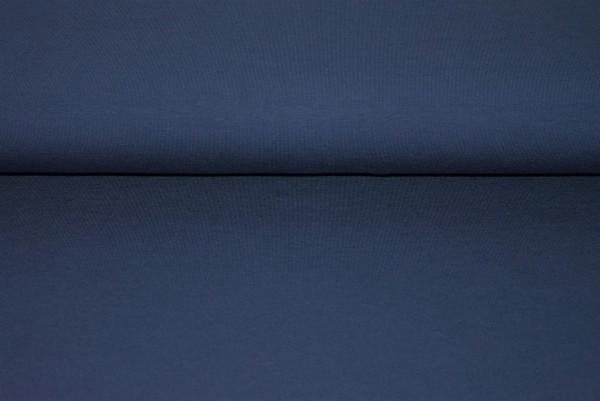 Baumwoll Jersey uni (dkl. blau) - 2640