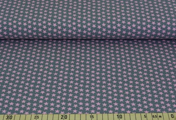 Sternchen (grau/rosa) - B348