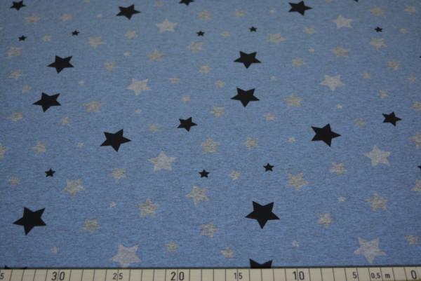Sterne Lichteffekt (blau) - B884