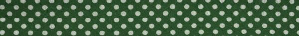 Schrägband (Tupfen dkl. grün)