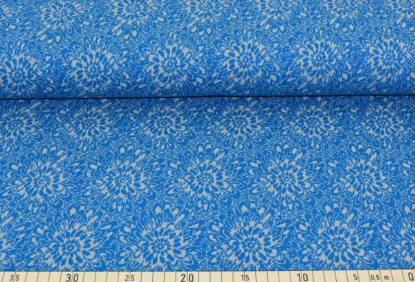 Strickflower (blau/grau) - K160