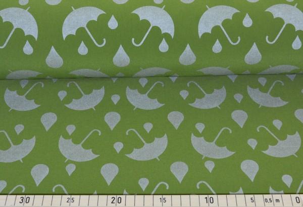 Softshell Reflex Regenschirm (grün) - B830