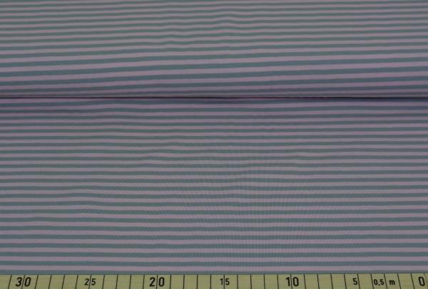 Streifen (rosa/grau) - B347